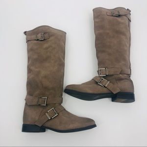 Sweet Life by Dolce Vita Tall suede Moto boots